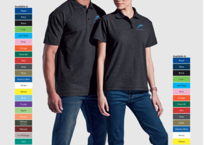 Barron On Workwear Catalogue 148 - Outdoor & Leisure 175G Men's Barron Pique Knit Golfer