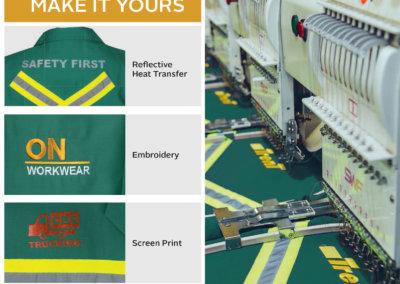 Barron On Workwear Catalogue 149 - On Site Branding Facility