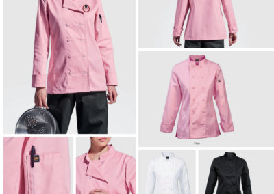 Barron On Workwear Catalogue 21 - Chefwear Ladies long sleeve Savona Chef Jacket