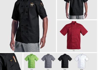 Barron On Workwear Catalogue 22 - Chefwear Men's short sleeve Savona Chef Jacket