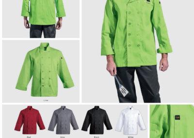 Barron On Workwear Catalogue 23 – Chefwear Men's long sleeve Savona Chef Jacket