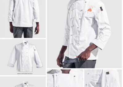 Barron On Workwear Catalogue 24 - Chefwear Pescara Chef Jacket