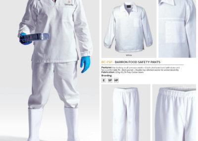 Barron On Workwear Catalogue 28 - Chefwear Barron Food Safety Jacket