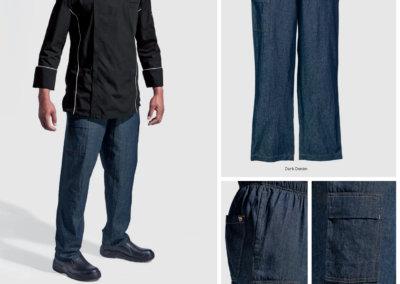 Barron On Workwear Catalogue 30 - Chefwear Premium Denim Chef Baggy Pants