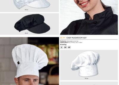 Barron On Workwear Catalogue 32 - Chefwear Deli Cap