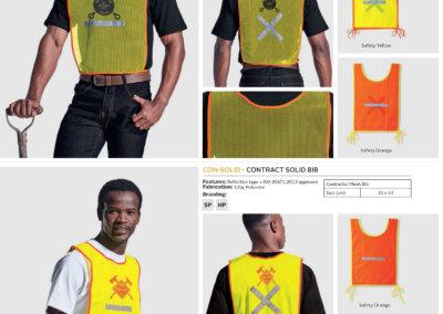 Barron On Workwear Catalogue 40 - High-Visibility Workwear Contract Mesh Bib