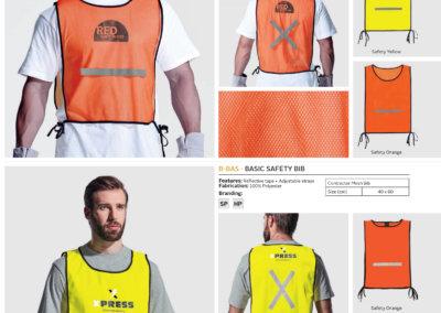Barron On Workwear Catalogue 41 - High-Visibility Workwear Mesh Bib