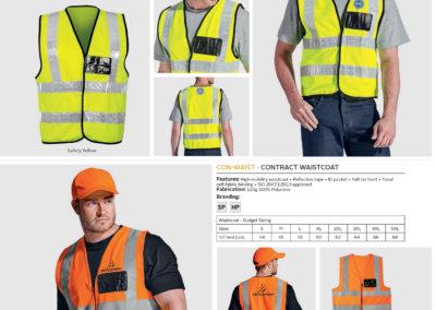Barron On Workwear Catalogue 42 - High-Visibility Workwear Contract PVC Waistcoat