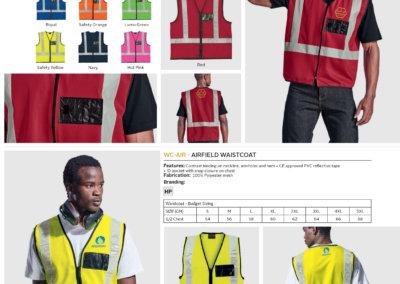 Barron On Workwear Catalogue 43 - High-Visibility Workwear Highway Waistcoat