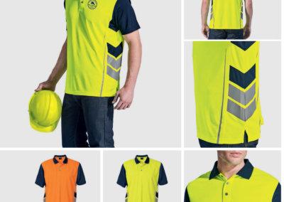 Barron On Workwear Catalogue 44 - High-Visibility Workwear Surge Golfer