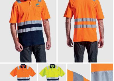 Barron On Workwear Catalogue 46 - High-Visibility Workwear Patrol Golfer