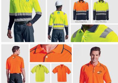 Barron On Workwear Catalogue 47 - High-Visibility Workwear Transit Long Sleeve Golfer