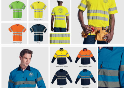 Barron On Workwear Catalogue 49 - High-Visibility Workwear 150g poly cotton safety t-shirt with tape