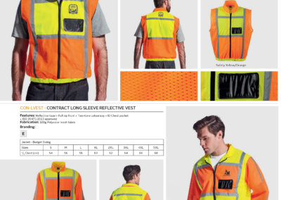 Barron On Workwear Catalogue 50 - High-Visibility Workwear Contract Sleeveless Reflective Vest