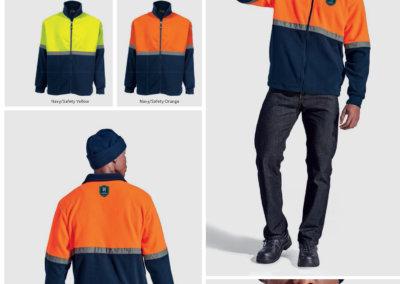 Barron On Workwear Catalogue 53 - High-Visibility Workwear Quarry Fleece
