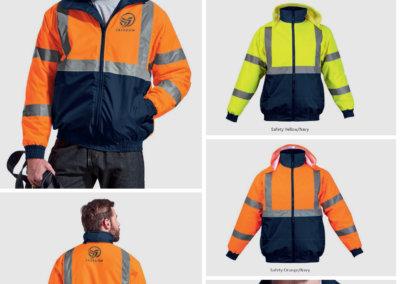 Barron On Workwear Catalogue 54 - High-Visibility Workwear Hawk Jacket