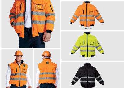 Barron On Workwear Catalogue 55 - High-Visibility Workwear Barricade Jacket