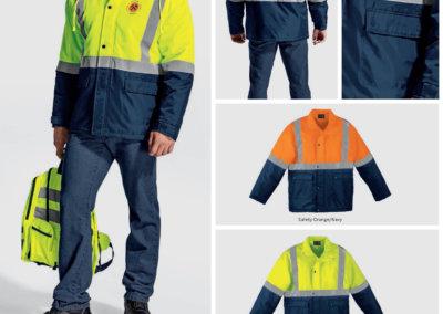 Barron On Workwear Catalogue 56 - High-Visibility Workwear Venture Padded Jacket