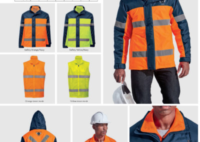 Barron On Workwear Catalogue 58 - High-Visibility Workwear Contractor 3 in 1 Jacket
