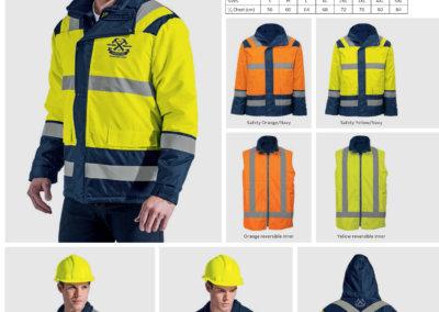 Barron On Workwear Catalogue 59 - High-Visibility Workwear Blaze 4 in 1 Jacket