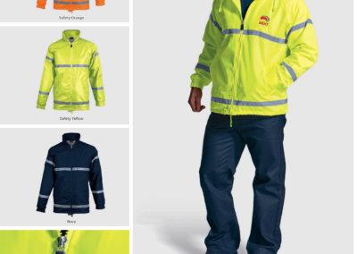 Barron On Workwear Catalogue 60 - High-Visibility Workwear Convoy Jacket