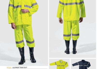 Barron On Workwear Catalogue 62 - High-Visibility Workwear Element Rain Suit