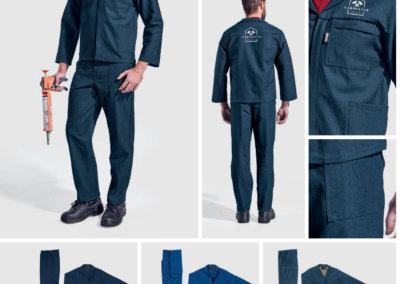 Barron On Workwear Catalogue 70 - Protective Outerwear Barron Budget 100% Cotton Conti Suit