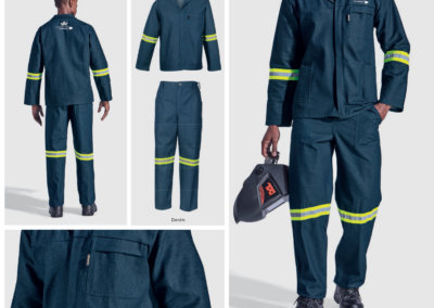 Barron On Workwear Catalogue 70 - Protective Outerwear Barron Budget 100% Cotton Conti Suit With Reflective Tape