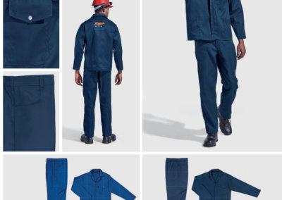 Barron On Workwear Catalogue 73 - Protective Outerwear Barron Supreme Poly Cotton Conti Suit