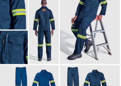 Barron On Workwear Catalogue 74 - Protective Outerwear Barron Supreme Poly Cotton Conti Suit With Reflective