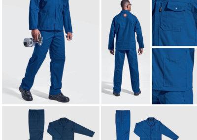 Barron On Workwear Catalogue 75 - Protective Outerwear Barron Supreme 100% Cotton Conti Suit