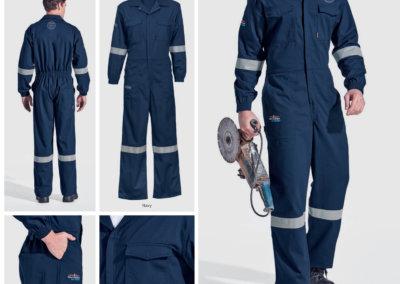 Barron On Workwear Catalogue 77 - Protective Outerwear Barron D59 (SABS) Flame And Acid Retardent Boiler Suit