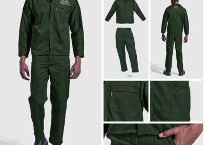 Barron On Workwear Catalogue 78 - Protective Outerwear Barron Acid Resistant Poly Cotton Conti Suit