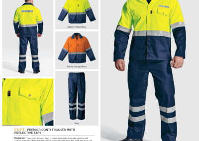 Barron On Workwear Catalogue 79 - Protective Outerwear Premier Conti Jacket With Reflective Tape
