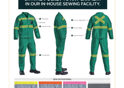 Barron On Workwear Catalogue 81 - Protective Outerwear Reflective Tape