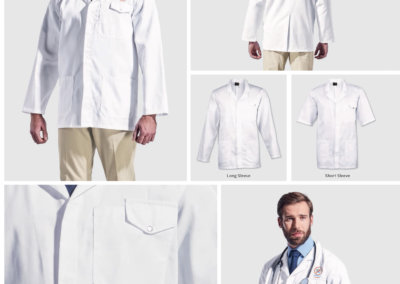 Barron On Workwear Catalogue 84 - Protective Outerwear All-Purpose Short And Long Sleeve Lab Coat