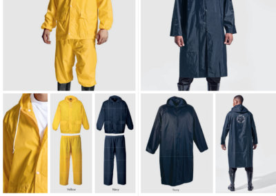 Barron On Workwear Catalogue 87 - Protective Outerwear Contract Rain Suit