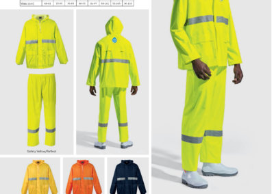 Barron On Workwear Catalogue 88 - Protective Outerwear Contract Reflective Rain Suit