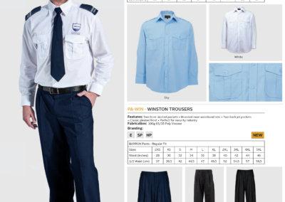 Barron On Workwear Catalogue 94 - Security Pilot Shirt