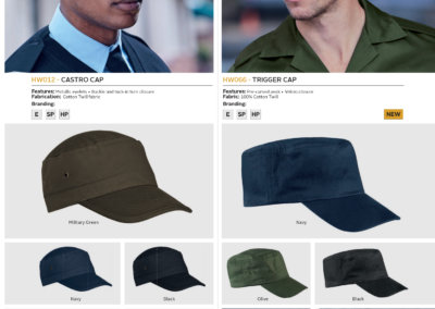 Barron On Workwear Catalogue 95 - Security Castro Cap